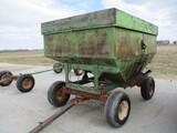 Gravity wagon w/MN Rugged 8 ton running gear