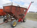 Gravity wagon w/Sudenga hyd fert auger & Kory running gear