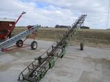 John Deere 35, 40 ft bale conveyor, PTO
