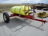 500 Gallon nurse tank, transfer pump & 5.5 hp motor
