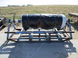 Bunker poly hyd unroller, used for covering bunker, skid loader mnt