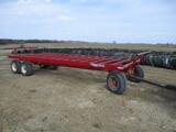 Bale King 8 bale heavy duty bale wagon, MN 13 ton running gear