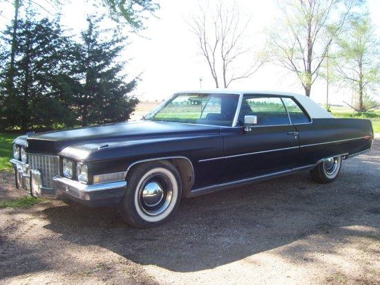 1971 Cadillac 2 Door Coupe de Ville