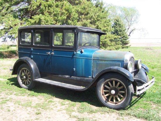 1929 Chrysler 4 Door Sedan