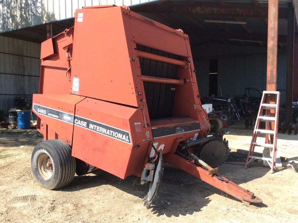 Case Ih 8465a Round Baler | Farm Machinery & Implements Hay
