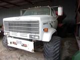 1988 Chevrolet Kodiak Fertilizer truck