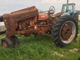 Farmall M Salvage Tractor
