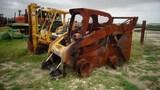 Cat  Burned skid steer