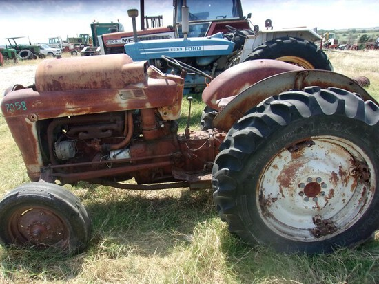 Ford  Salvage Tractor