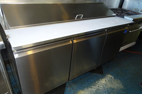 Coldteck SS Refrigerated Prep Table