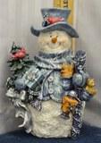 Home Interiors Snowman 10+