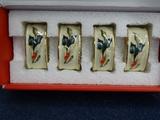 4 Lenox Winter Greetings Napkin Rings Mint in Box