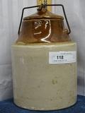 Storage Jar with Lid 11