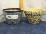 2 Sponge Ware Bowls