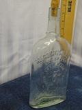 Old McCormick & Company Flask Embossed Bee Brand
