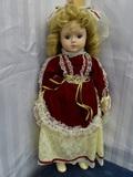 Gorham Musical Doll 18