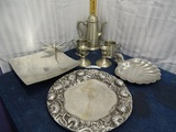 Collection of 8 Psc. of Pewter