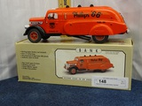 Phillip 66 Oil Truck Bank Battery Operated