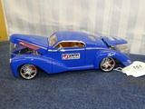 1939 Lincoln Zephyr Custom Coupe Dia Cast 1:24