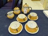 11 Pc Thomas Bavaria Luster Ware Tea Set