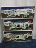 3 Hess Trucks 2001-2003