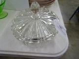 Crystal Candy Dish with Lid 7