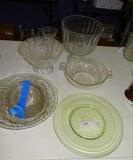 Box Lot Crystal Glassware