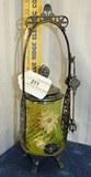 Vaseline Glass Pickle casor Pairpoint Mfg Co