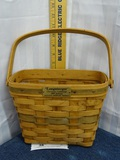 Longaberger Basket 1989 Christmas Collection