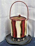 4 Tin American Top Hat Candle Holder MIB