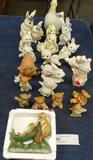 Lot Box of Animal Figurines