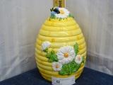 Bee Hive  Cookie Jar