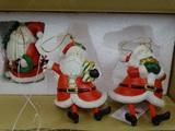 Santa Bell Ornaments