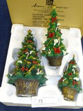 Box of Christmas Trees by Home Interiors