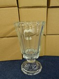 Lot of 10 Glass Candle Holders by Home Interiors