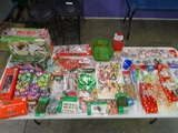 Table Lot of all Christmas Items