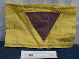 Jehovah's Witness Concentration Camp Arm Band 1936