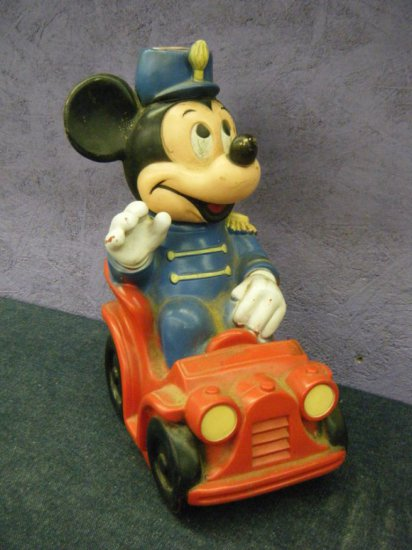 Mickey Mouse Bank hard rubber