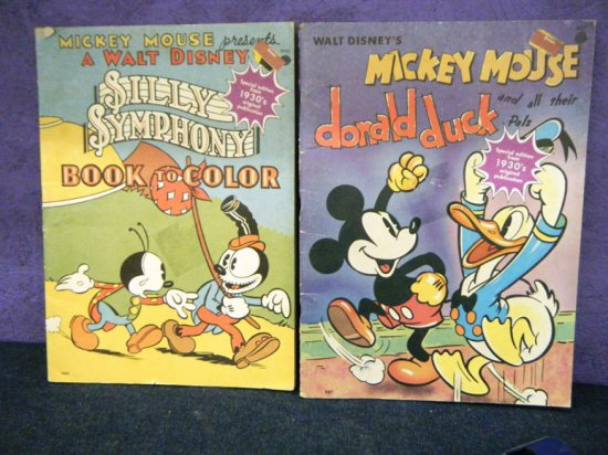 Mickey Mouse Books