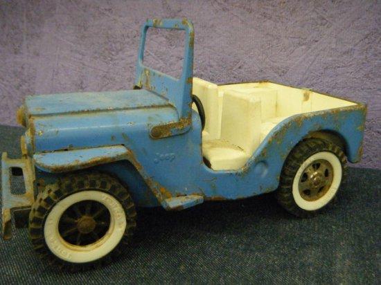 Tonka Jeep pressed steel & plastic