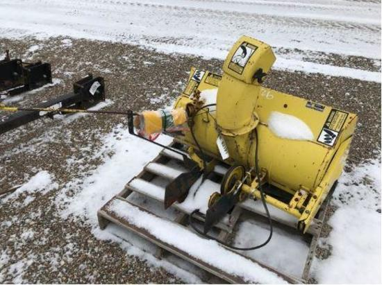 92191- JD FRONT MOUNT SNOW BLOWER