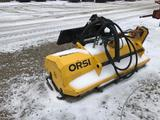 85080- ORSI SKID LOADER MOUNT FLAIL MOWER, HYDRAULIC DRIVE