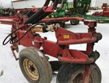 91795- WHITE 588 7 BTTM ORA LAND HITCH PLOW, ASR W/COULTERS, COVER BOARDS