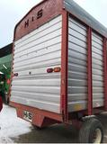 92375- H & S HD 7+4 SILAGE WAGON, ON H & S 2 AXLE RUNNING GEAR