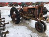 92545- IH F-12 TRACTOR, NO TAG (AS-IS)
