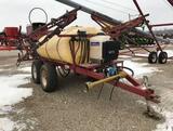 92724- WALSH 40' PULL TYPE SPRAYER, 540 PTO (STEVE BENDER FARM RETIREMENT)