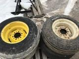 92970- PALLET OF MISC IMPLEMENT TIRES AND WHEELS