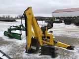 93737- 3PT BACKHOE, UNUSED, SELF CONTAINED W/PTO PUMP, 2 BUCKETS