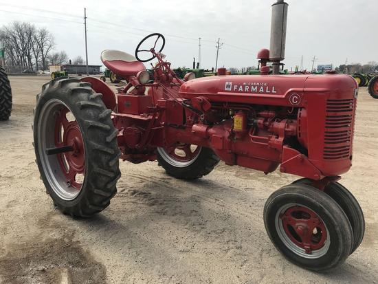 93533- FARMALL C TRACTOR