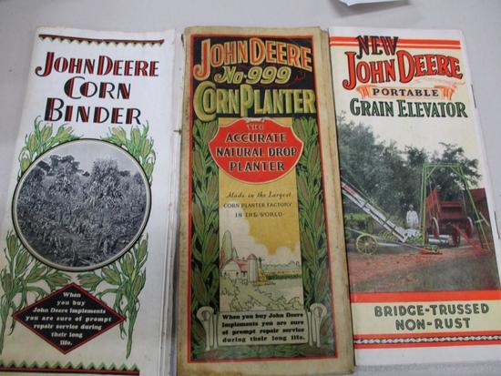 85493 JD Elevator, Corn Binder, Grain Elevator Sales Brochure